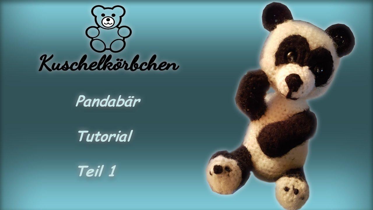 Panda Häkeln Teil1 Youtube