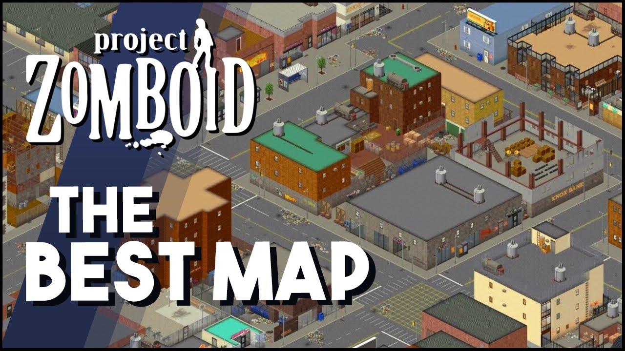 The BEST Map in Project Zomboid Raven Creek   My Favorite Modded ...