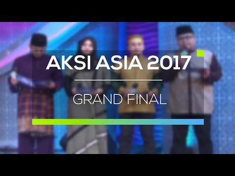 highlight aksi asia 2017 grand final youtube. Black Bedroom Furniture Sets. Home Design Ideas