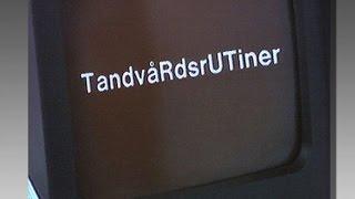 TRUT - Tandvårdsrutiner - En presentation - Landstinget Östergötland