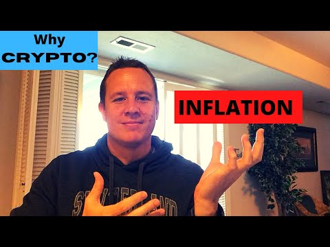 My Top Reasons to Invest in Cryptocurrency – Part 1:  Inflation