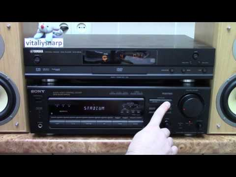 how to connect sony digital audio control center