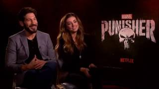 The Punisher: Jon Bernthal and Giorgia Whigham Interview