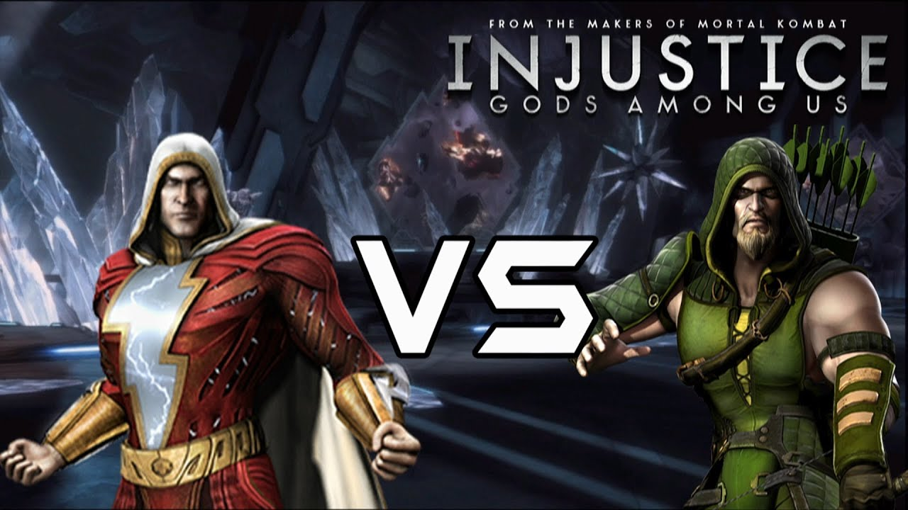 Injustice gods among us shazam vs green arrow with lore skins injustice gods among us shazam vs green arrow with lore skins youtube voltagebd