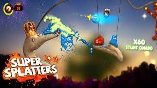 Super Splatters - Physique Liquide - Gameplay Présentation FR HD PC
