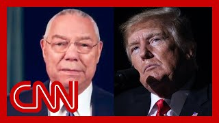 Trump rages against ๐utpouring of love for Colin Powell