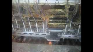Завод «Фиолент» (г. Симферополь). Линия по сборке якорей электродвигателей (ролик 3)