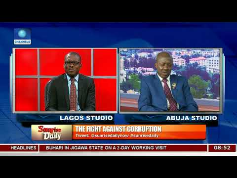 Acting EFCC Chairman, Magu Insists 'No Sacred Cow' In Corruption Fight Pt.2 |Sunrise Daily|