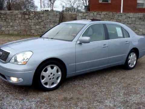 2002 02 Lexus LS430 LS 430 Start up n Used Car Review at
