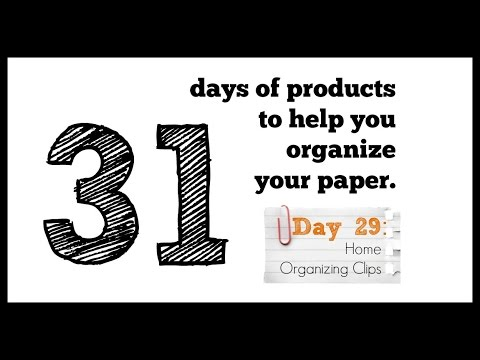 31 Days Of Paper Organizing Products Day 29 Home