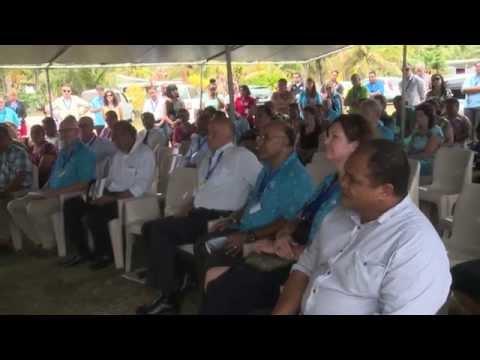 Pacific Community members witness launch of Niue energy roadmap