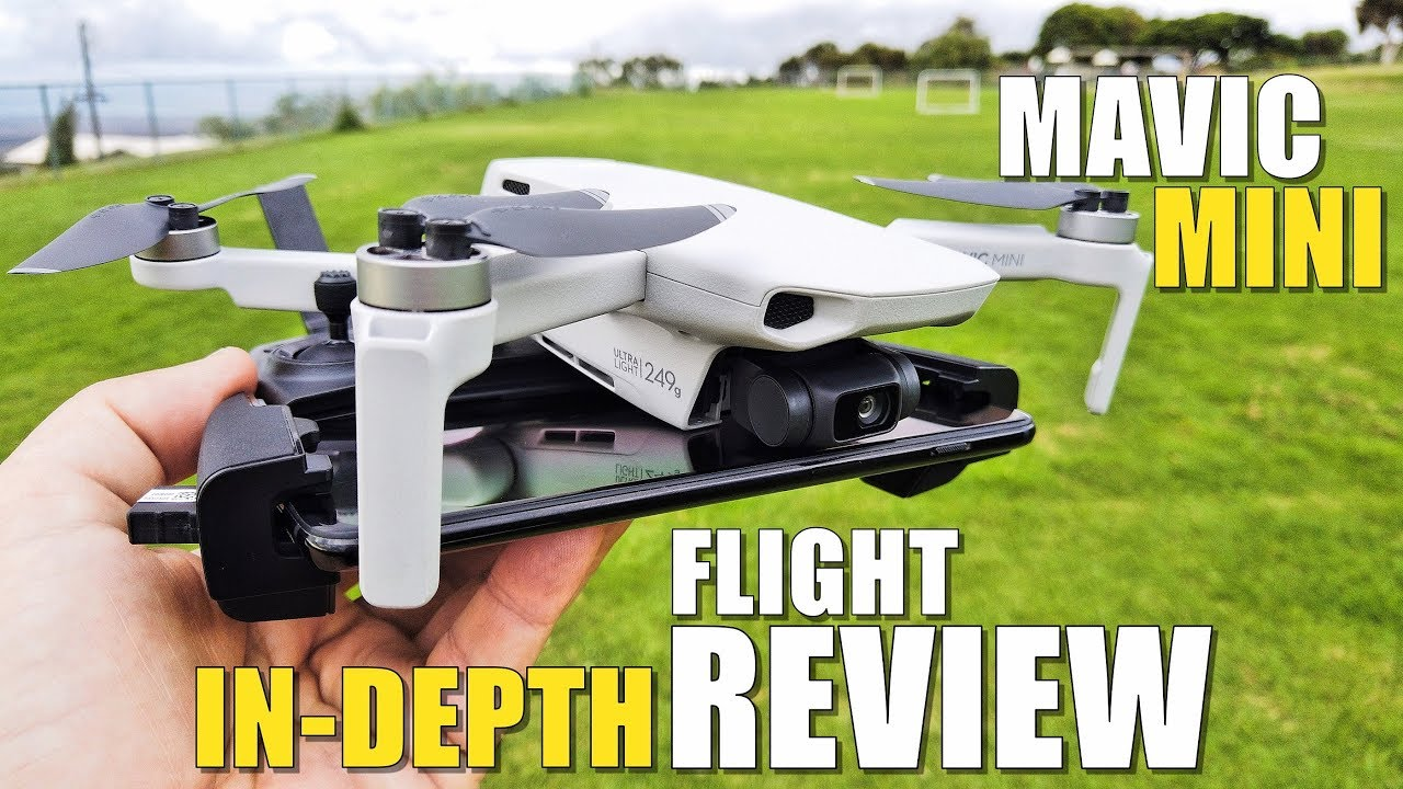 DJI Mavic MINI Flight Test Review IN-DEPTH - How good is it...REALLY!?