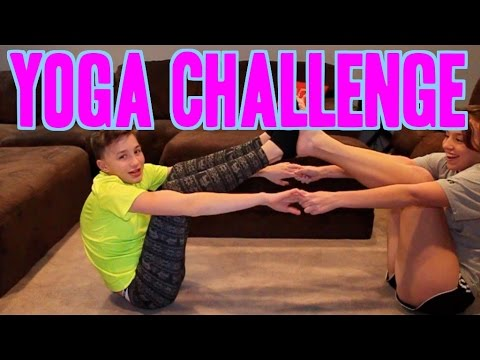 YOGA CHALLENGE (w/ my sister)