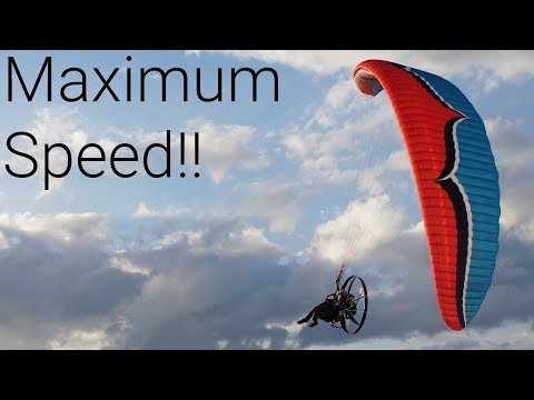 50 Mph On My Paramotor!!!