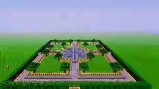 minecraft square town park