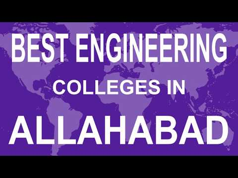 Best Engineering Colleges in Allahabad