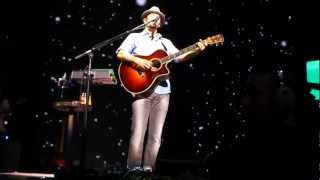 "Jason Mraz ""Clockwatching/Living in the Moment""  Montreal Bell Centre September 8, 2012"