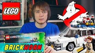 LEGO Ghostbusters Ecto-1 - Brickworm