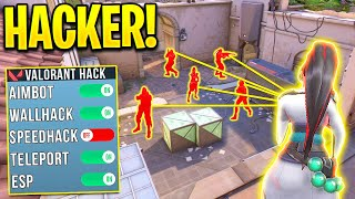 Hackers destroying an ENTIRE Game INSTANTLY! - Valorant