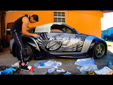 FAST And FURIOUS TOKYO DRIFT DECAL (vinil) NISSAN 350z!