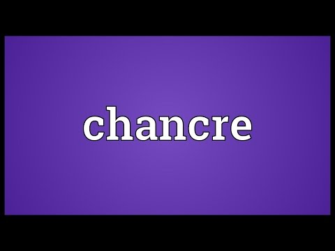 Chancre Meaning