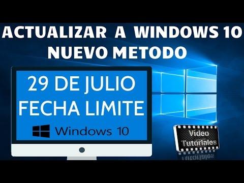 Còmo Actualizar a Windows 10 Despuès Del 29 De Julio | Nuevo Metodo Gratis y Legal.