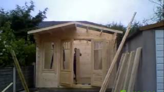 Timber Shed Installation - Garasheds Of York