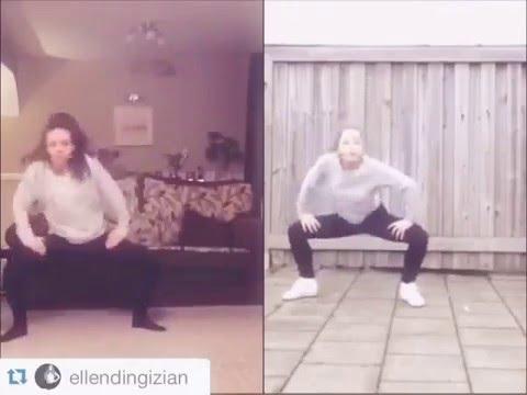 dance tutorial sliveSick #WDYM collab cover by Becki & Ellen!!😁💯💯 u guys killed this one!