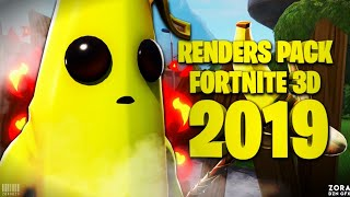 Mega Pack de Renders Fortnite 3D 2019/ZORA Dzn/Android