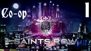 Прохождение Saints Row 3: The Third. Co-op: Gideon & Guinea Pig - Часть 1 (PayDay отдыхает!)
