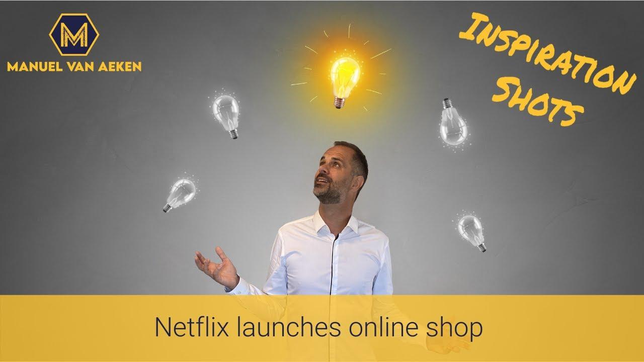 Netflix launches online shop