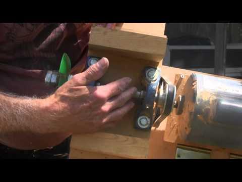 Home made wood shaper