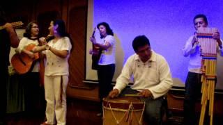 Grupo Sol Mayor - música andina ancestral. ( 1 de 5). Evento: Plenilunio 86.