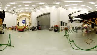 Explore the James Webb Space Telescope at NASA Johnson in 360 [4 - cup down]