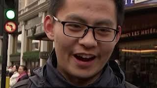 伦敦华人举行新春大游行 盼祖国平安