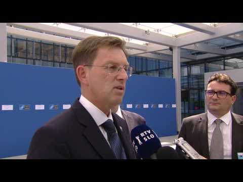 Slovenia Doorstep Statement Before Meeting of Heads of State at NATO Headquarters