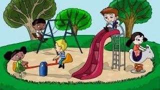 This video is not available. How to Draw Kids Playing in a Playground