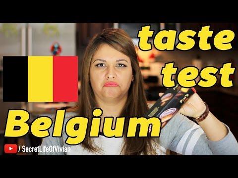BELGIAN FOOD TASTE TEST #1 | BELGIUM | VIVIAN REACTS
