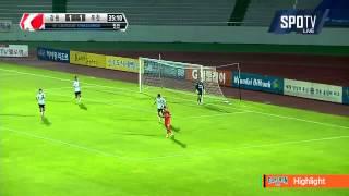 2015 K리그 챌린지 26R 강원FC vs 부천FC 하이라이트