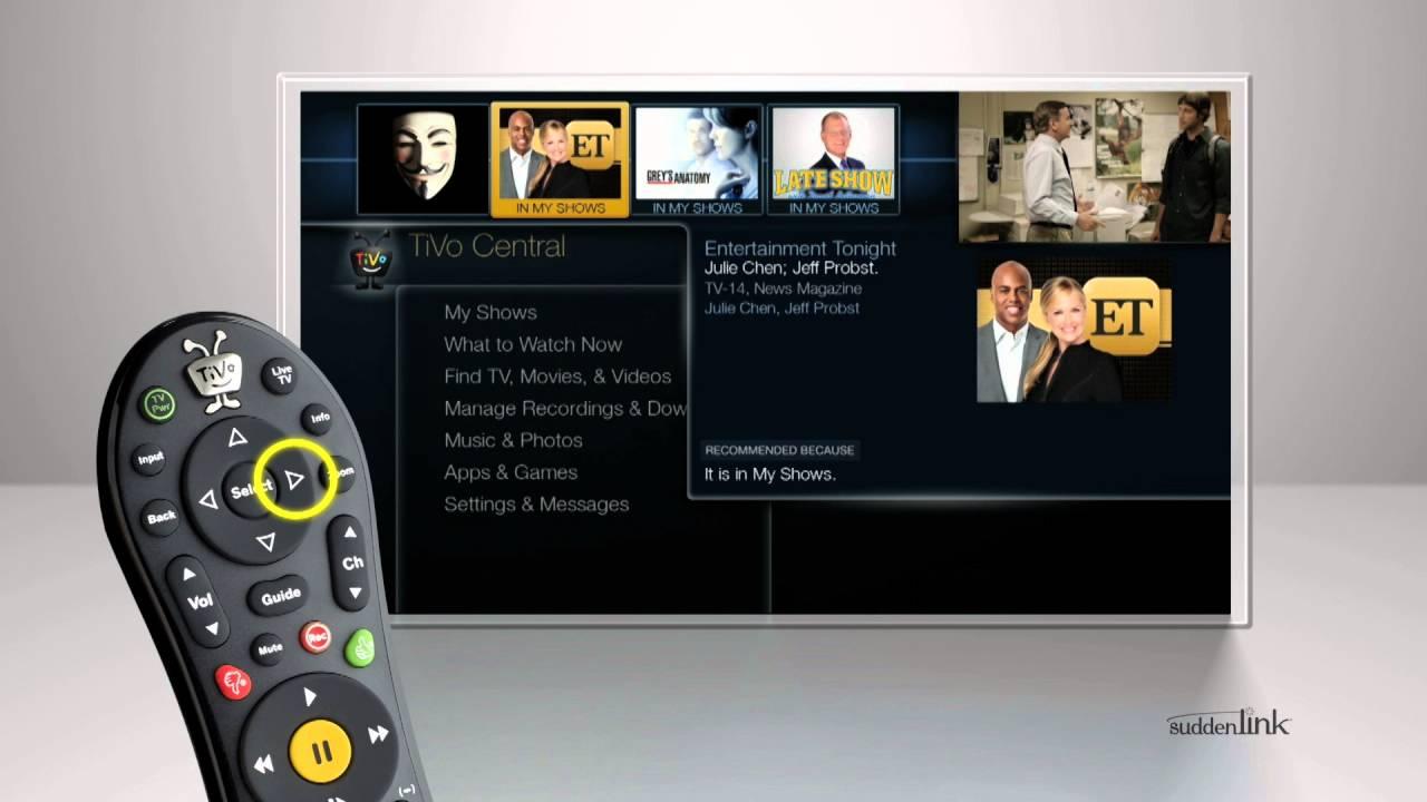 Suddenlink TiVo hookup