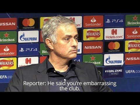 Jose Mourinho On United's Valencia Draw & Scholes Criticism
