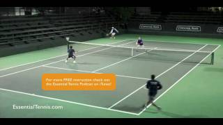 Tennis Doubles Positioning: Shading
