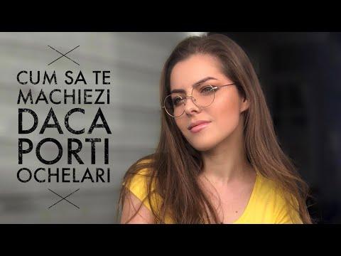 Cum sa te machiezi daca porti ochelari | Alina Ghitescu