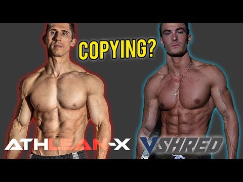 Is VShred STEALING From Athlean-X? ?