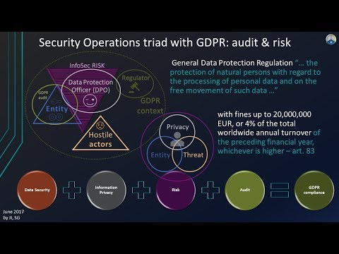 Adaptive Security with GDPR Privacy by Design ji www