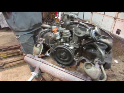 tear down of Brians vw engine