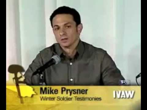 Veteran Mike Prysner - U.S. military racism against Iraqis is terrorism