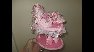 Shabby Chic Ballet Slippers On A Stand Tutorial - jennings644