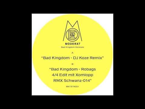Moderat - Bad Kingdom (Robag Wruhme Moderat Remix)