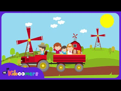 The Farmer In The Dell | Nursery Rhyme | Children's Song | The Kiboomers